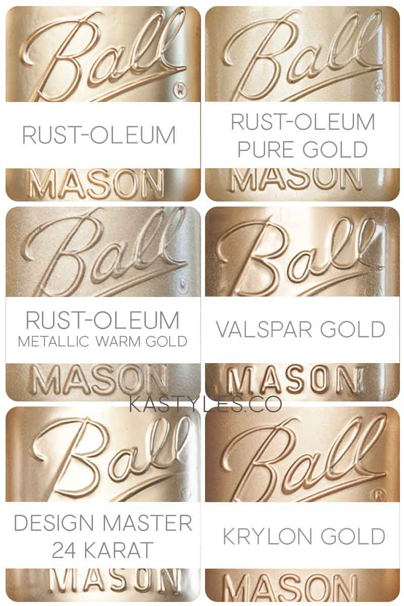Best gold spray paint colors.