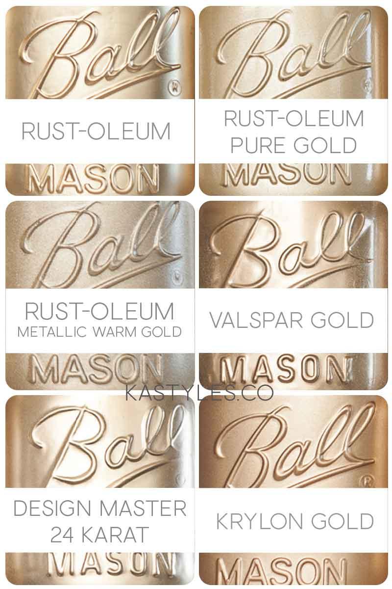 Best gold spray paint colors.