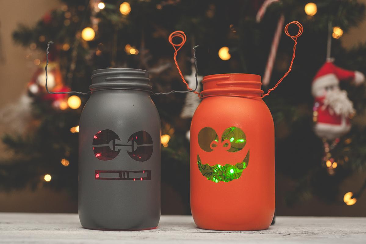 Mason jars for christmas ka styles