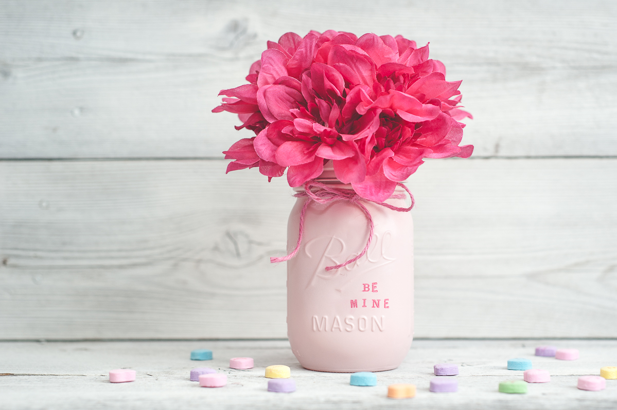 Valentine S Day Mason Jar Decor Or Gift Jars Sprinkled And Painted At Ka Styles Co