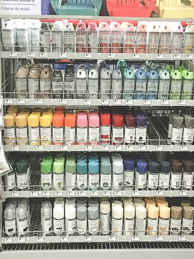 valspar spray paint colors