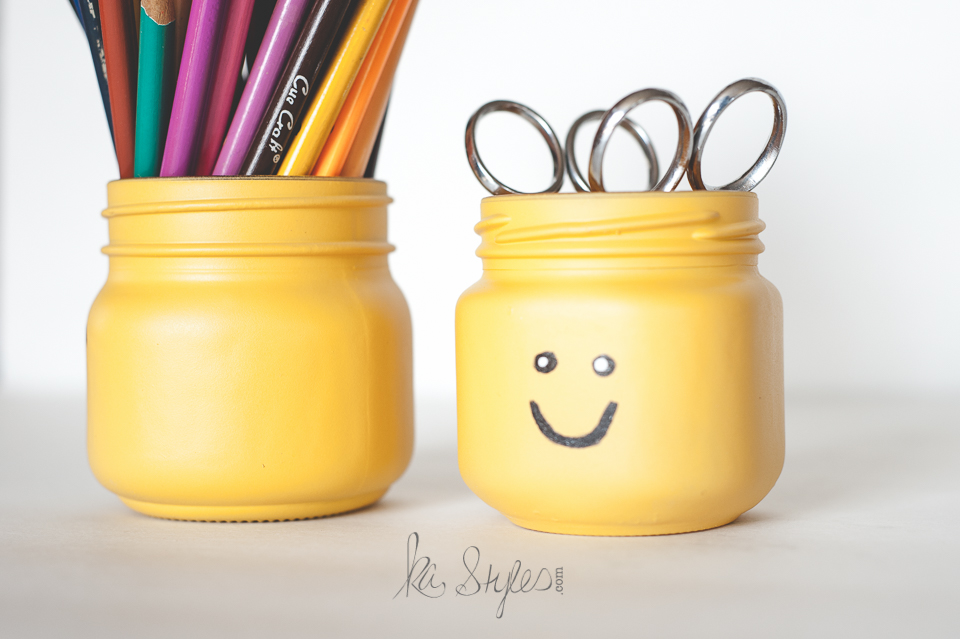 DIY Lego head mason jars-2