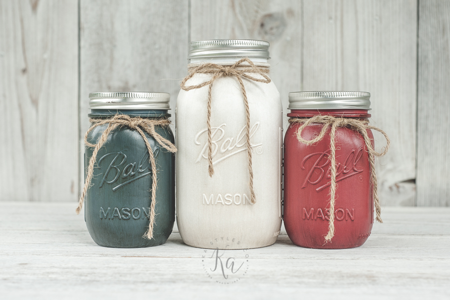 July 4th mason jars.