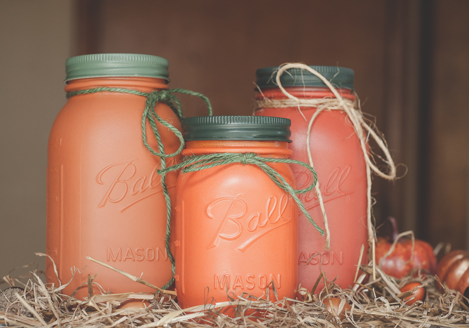 fall pumpkin mason jars-10