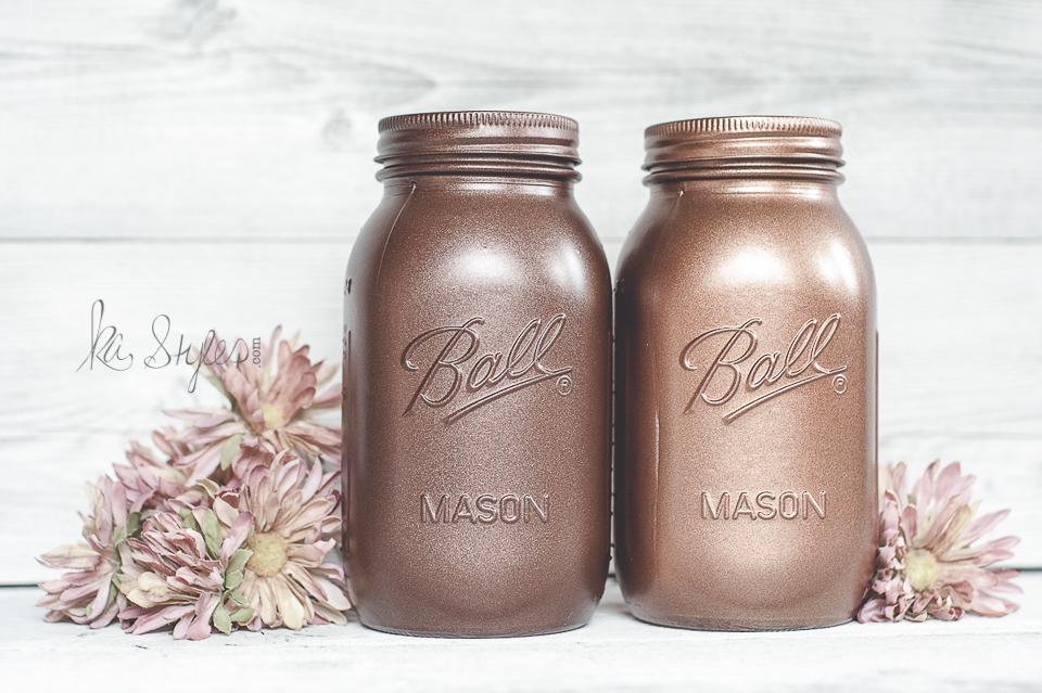Rust-Oleum Metallic Spray Paints - KA Styles Mason Jars & DIY