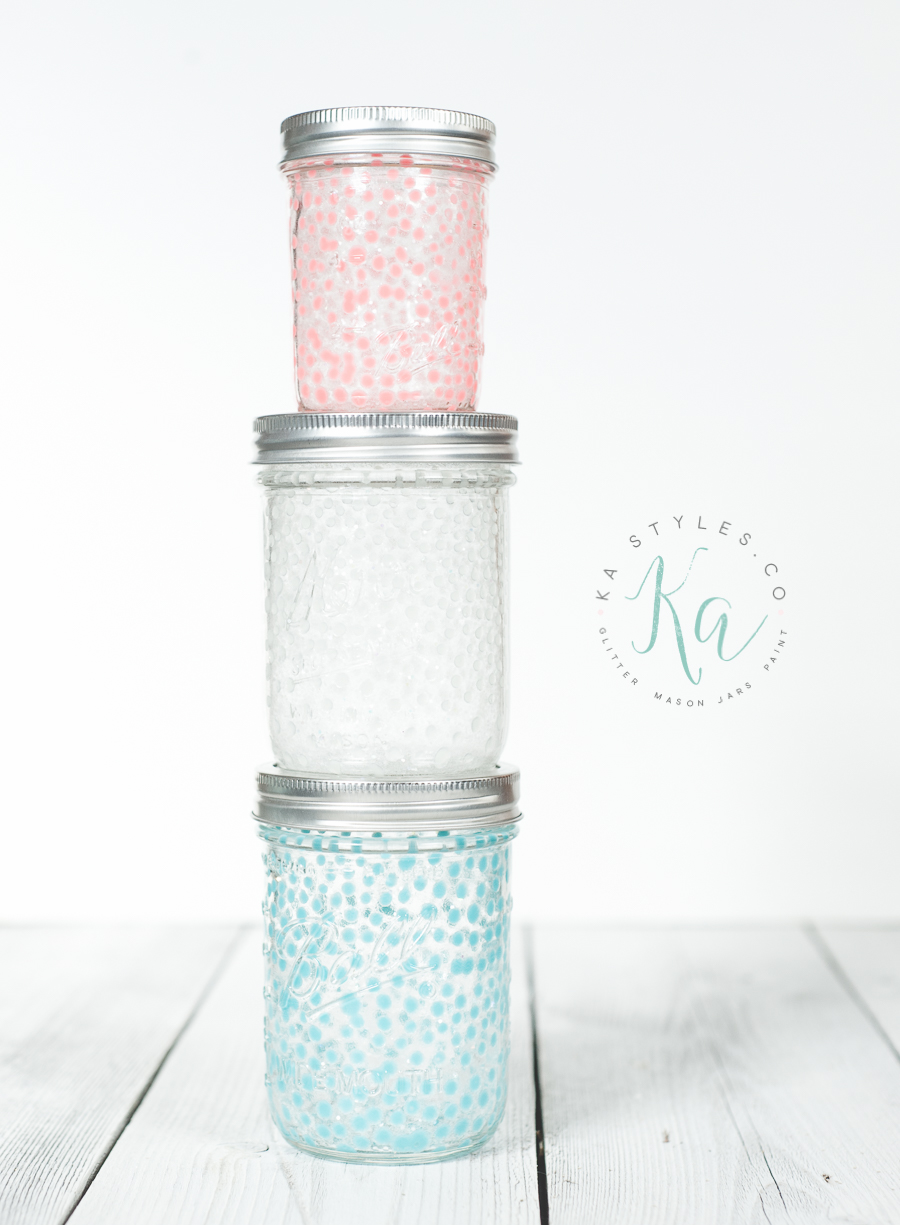 DIY glow in the dark mason jars.