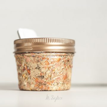 Gold Leaf Mason Jar Candle