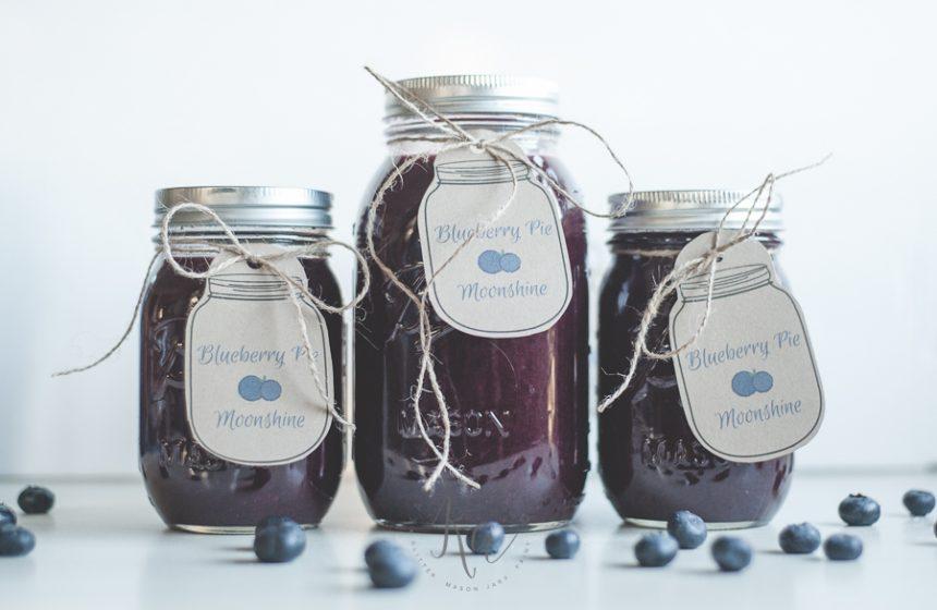 Blueberry Pie Moonshine Recipe Al a Mode