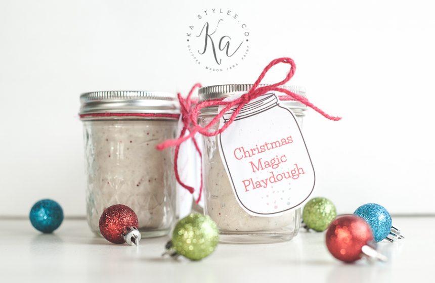 Christmas Magic Playdough Recipe
