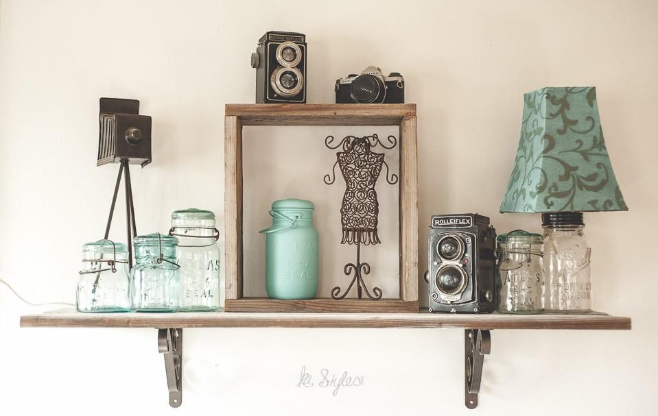 vintage aqua blue mason jars-2