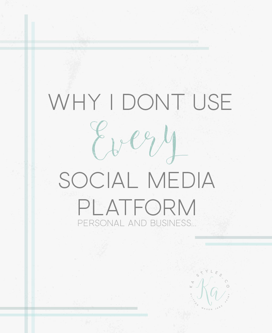 why-i-dont-use-every-social-media-platform