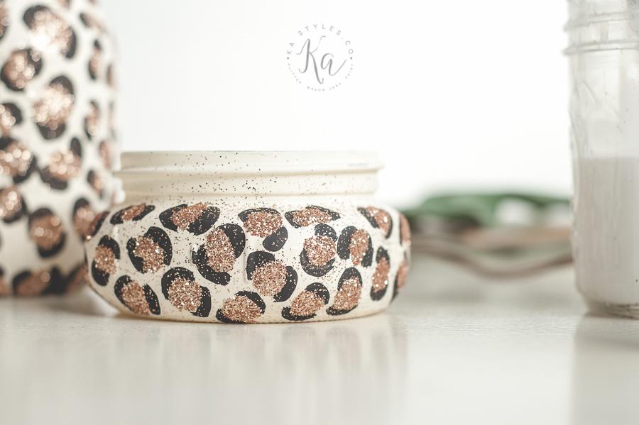leopard-print-glitter-mason-jar-4