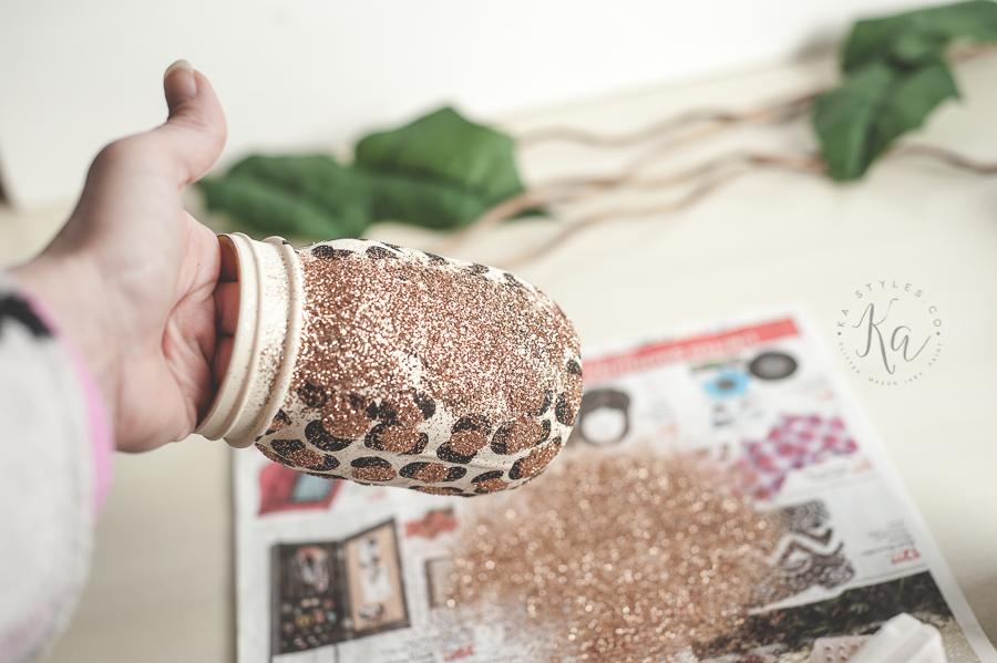 leopard-print-glitter-mason-jar-9