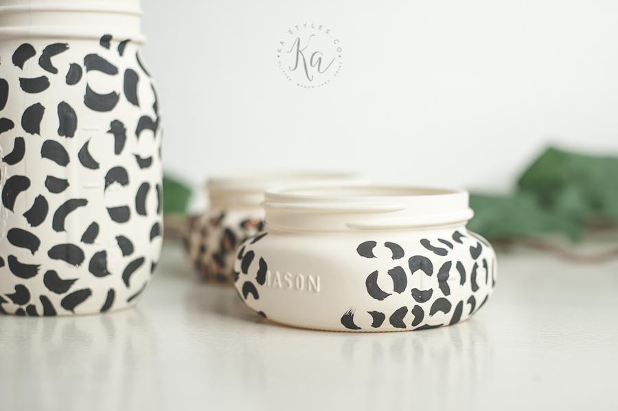 leopard-print-glitter-mason-jar