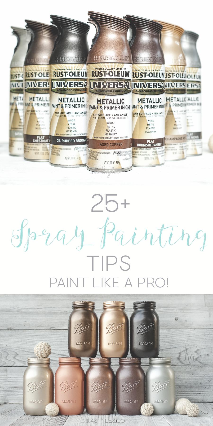 25 Spray Painting Tips Ka Styles