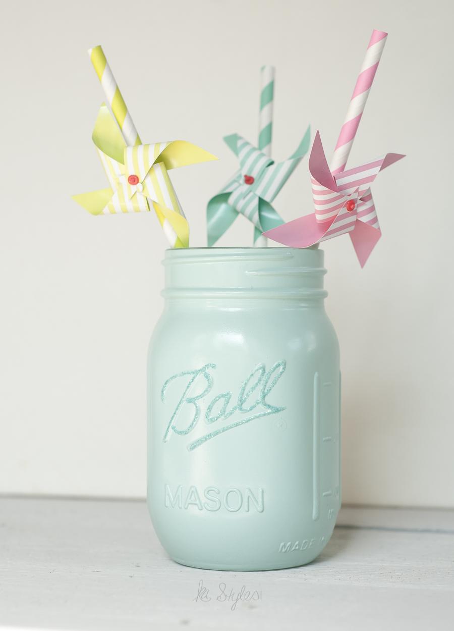 Valspar Milk Glass spray paint.