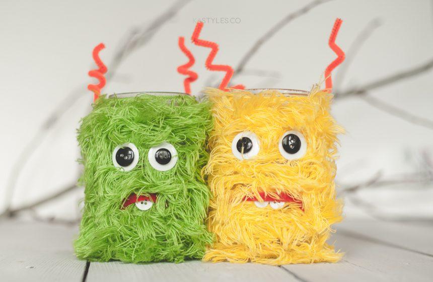 Monster Mason Jars