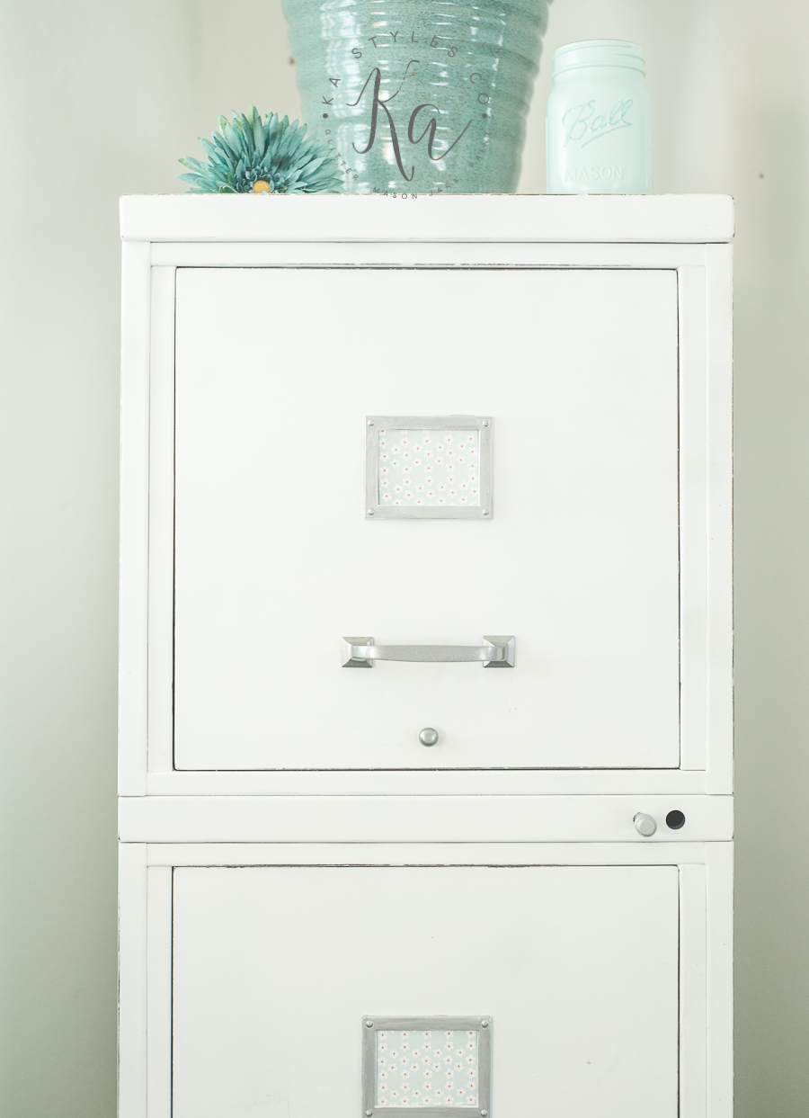 chalky-finish-spray-painted-file-cabinet