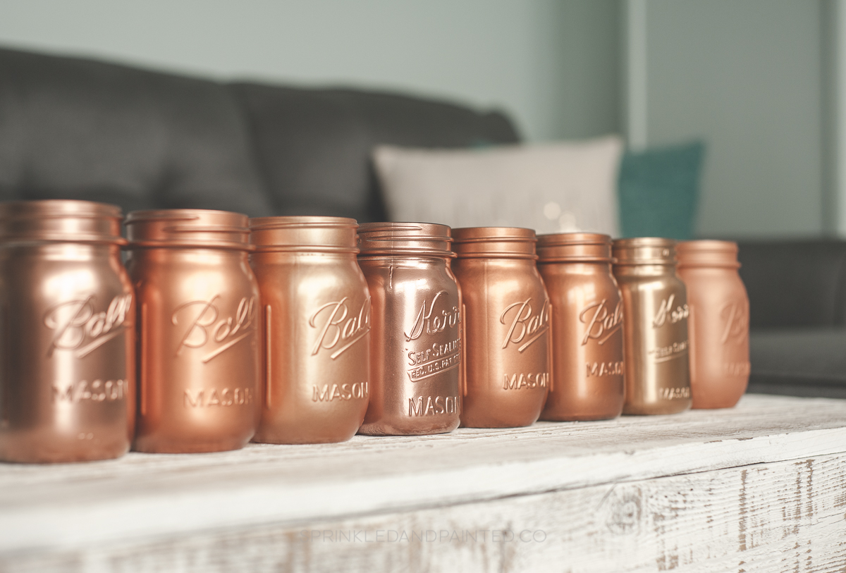 Copper spray paint colors.