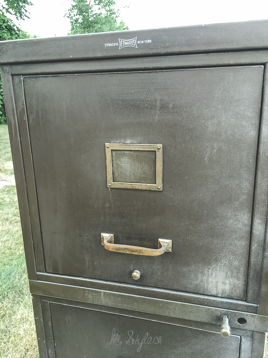 My 100 Year Old File Cabinet Makeover Ka Styles