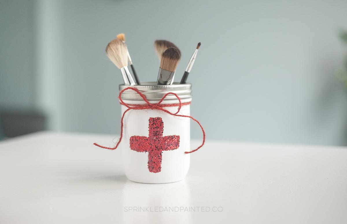 Medical Dr or Nurse Mason Jar