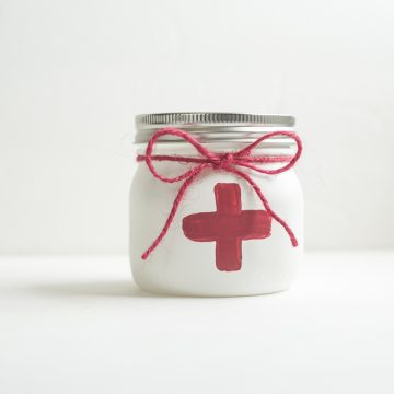 Medical Dr or Nurse Mason Jar