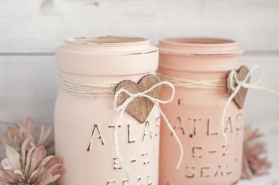 Latex paint baby food jar
