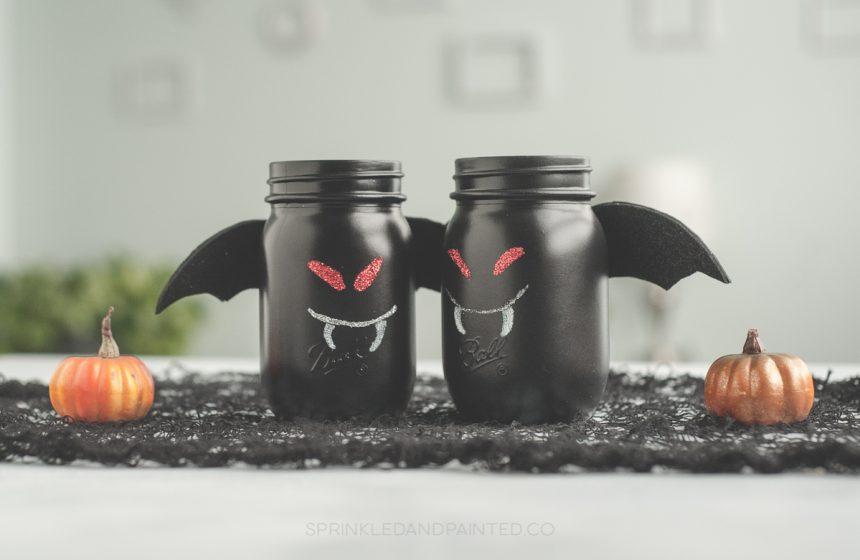 Bat Mason Jars