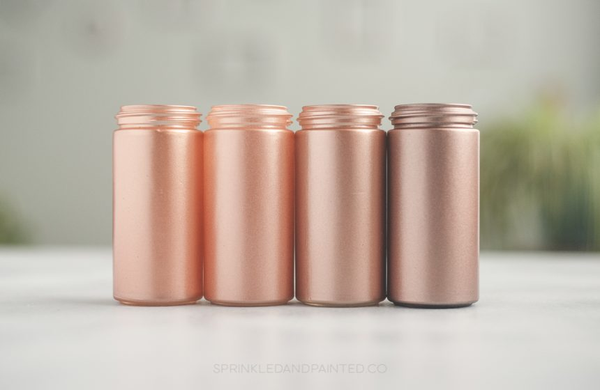 Rose Gold Acrylic Paint for Airbrushing